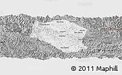 Gray Panoramic Map of Samneua