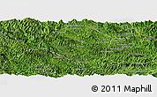 Satellite Panoramic Map of Samneua