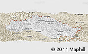 Classic Style Panoramic Map of Xiengkho