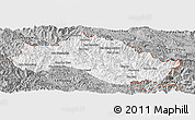 Gray Panoramic Map of Xiengkho
