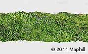 Satellite Panoramic Map of Xiengkho