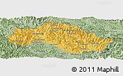 Savanna Style Panoramic Map of Xiengkho