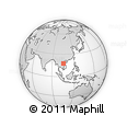 Outline Map of Khammouane