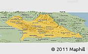 Savanna Style Panoramic Map of Khammouane