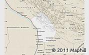 Classic Style Map of Thakhek