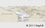 Classic Style Panoramic Map of Thakhek
