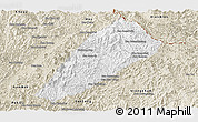 Classic Style Panoramic Map of Ngoy