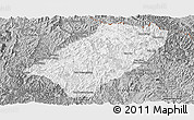 Gray Panoramic Map of Viengkham