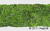 Satellite Panoramic Map of Viengkham