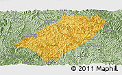 Savanna Style Panoramic Map of Viengkham