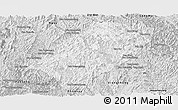 Silver Style Panoramic Map of Viengkham