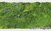 Satellite Panoramic Map of Namtha