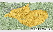 Savanna Style Panoramic Map of Namtha