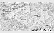 Silver Style Panoramic Map of Namtha