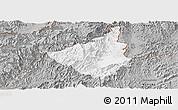 Gray Panoramic Map of Sing