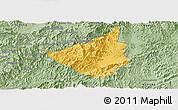 Savanna Style Panoramic Map of Sing
