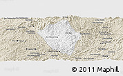 Classic Style Panoramic Map of Viengphoukha