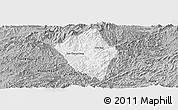 Gray Panoramic Map of Viengphoukha