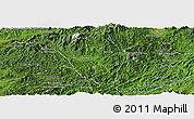 Satellite Panoramic Map of Viengphoukha