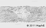 Silver Style Panoramic Map of Viengphoukha