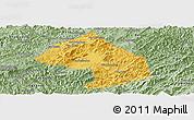 Savanna Style Panoramic Map of Houne