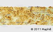 Physical Panoramic Map of Na Mo