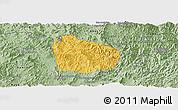 Savanna Style Panoramic Map of Na Mo