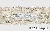 Classic Style Panoramic Map of Pak Beng