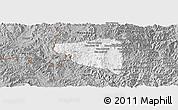 Gray Panoramic Map of Boun Tay