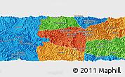 Political Panoramic Map of Boun Tay