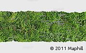 Satellite Panoramic Map of Boun Tay