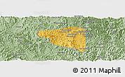 Savanna Style Panoramic Map of Boun Tay