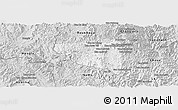 Silver Style Panoramic Map of Boun Tay