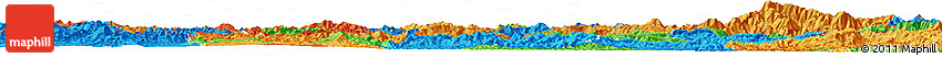 Political Horizon Map of Phongsaly