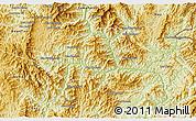Physical 3D Map of Khoua