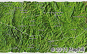 Satellite 3D Map of Khoua