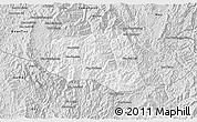 Silver Style 3D Map of Khoua