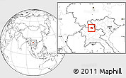 Blank Location Map of Khoua