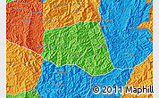 Political Map of Khoua
