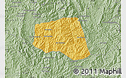 Savanna Style Map of Khoua
