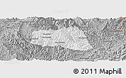 Gray Panoramic Map of Khoua