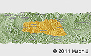 Savanna Style Panoramic Map of Khoua