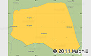 Savanna Style Simple Map of Khoua