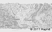Silver Style Panoramic Map of May