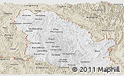 Classic Style Panoramic Map of Phongsaly