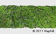 Satellite Panoramic Map of Phongsaly