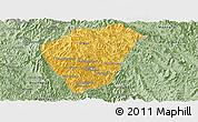 Savanna Style Panoramic Map of Phongsaly