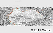 Gray Panoramic Map of Yot Ou