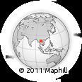 Outline Map of Sayabouri