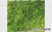 Satellite Panoramic Map of Sayabouri